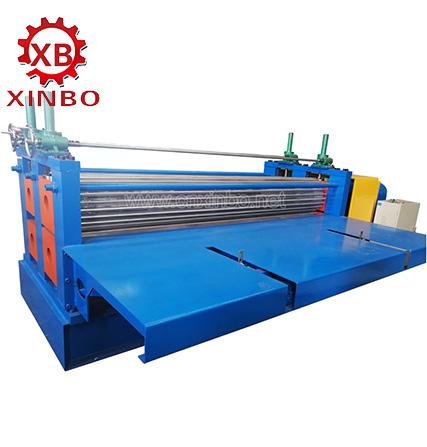 corrugated roof panel machine