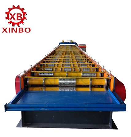 decking floor roll forming machine