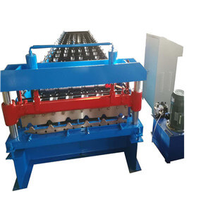 roof wall panel roll forming machine tile machine