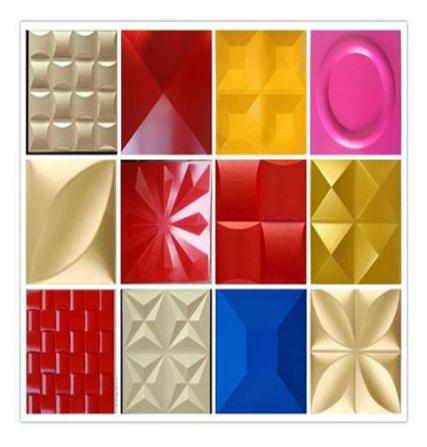 3D decorative panel production line