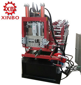 Automatic Interchangeable C/Z Purlin Roll Forming Machine