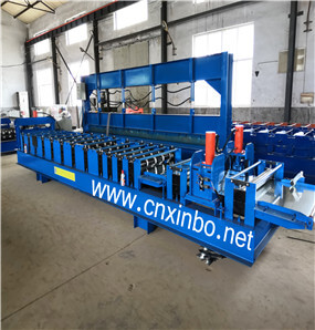 Steel Box Roll Forming Machine