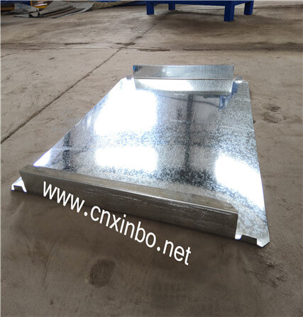 Steel Box Roll Forming Machine
