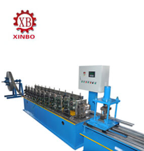 Plain rolling shutter door slat roll forming machine