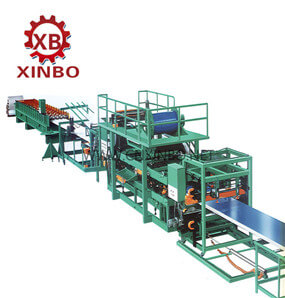 EPS/Glass Wool Sandwich Panel Production Line