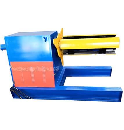 5t Hydraulic Automatic Efficient  Uncoiler Decoiler Machine