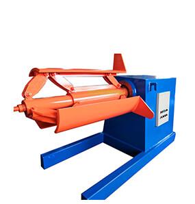 5t Hydraulic Automatic Efficient  Uncoiler Decoiler Machine
